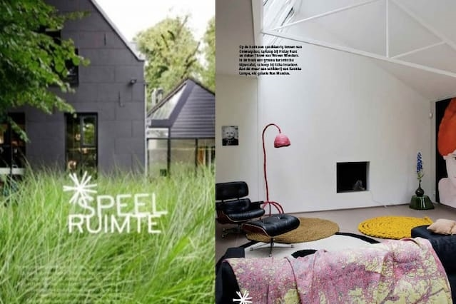 Design home in city park close to Amsterdam