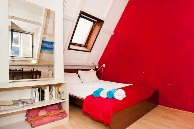 Rustige kamer in Amsterdam Centrum