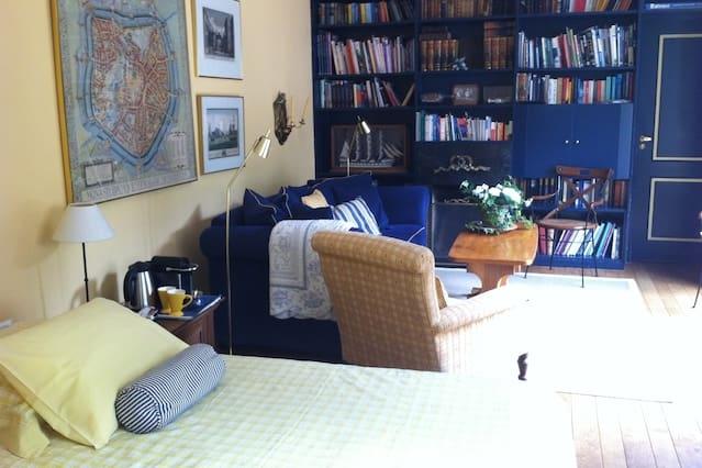 Comfortabele suite met aansluitende badkamer