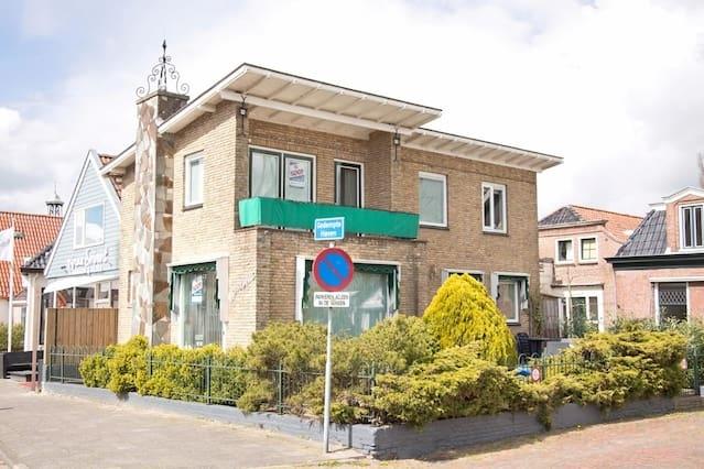 Vrijstaand woonhuis centrum Grou (Moskeflap)
