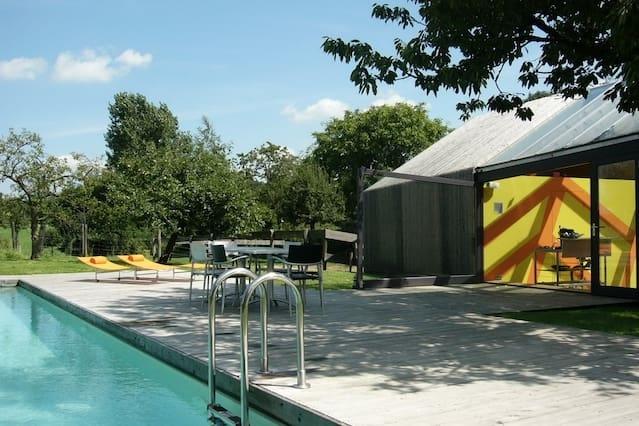 Huis Met Design : Design huis zwembad en privé sauna oozo.nl