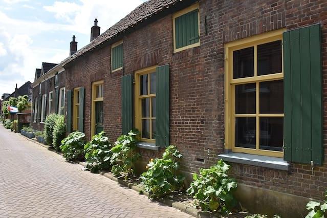 Authentiek voorhuis loopafstand centrum en IJssel
