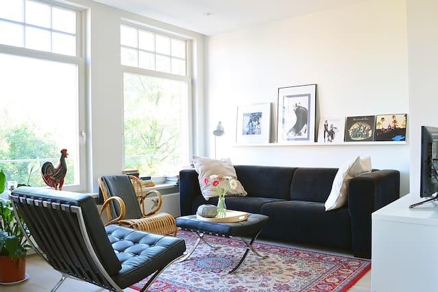 Modern apartment near Vondelpark in Amsterdam West