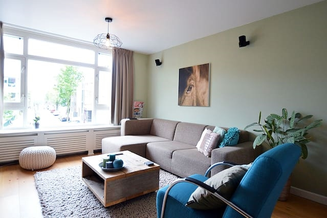 Apartment with huge roof terrace near Oosterpark!