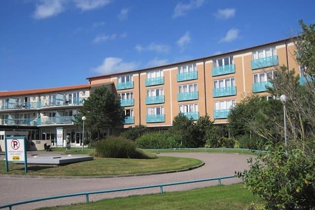 Appartement aan het strand van Julianadorp