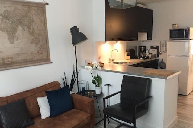 Gezellig appartement, beste locatie