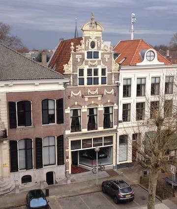 Oude centrum Deventer, nabij IJssel
