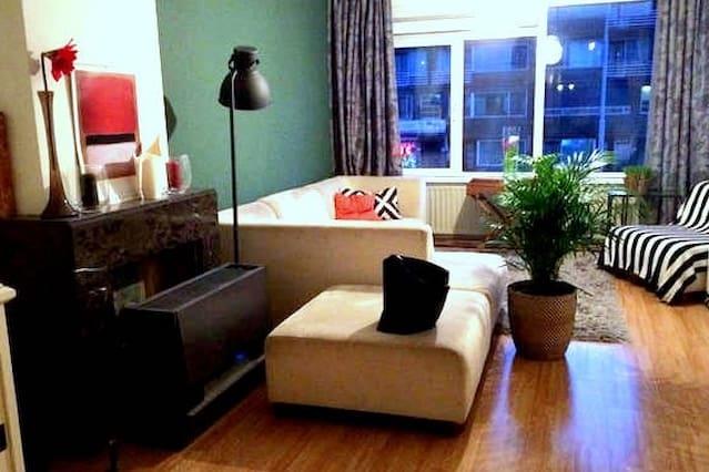 Ruim en trendy appartement centrum Rdam