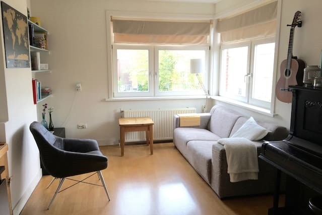 Cozy, light and clean apartment near city center