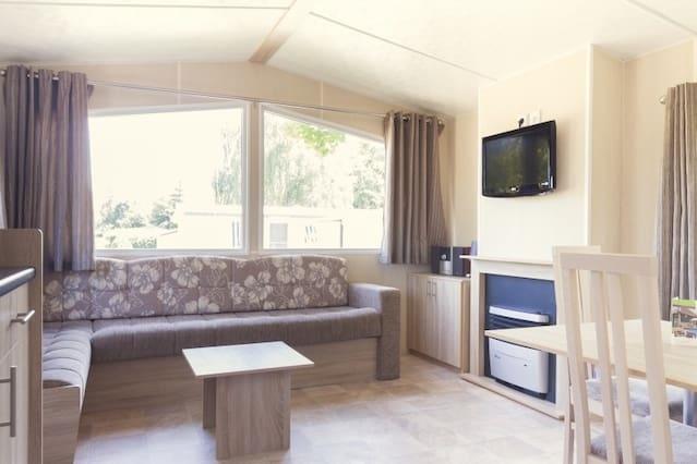Luxe (nieuwe!) Mobile Homes nabij strand