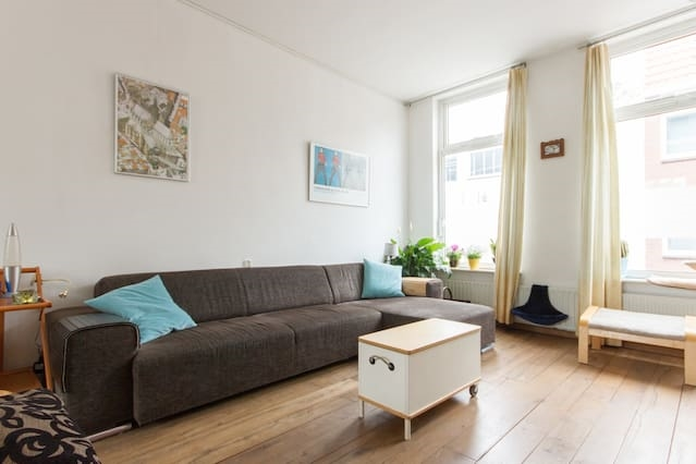 Clean and spacious home in Haarlem.