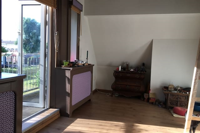 Room with a view and a mezzanine
