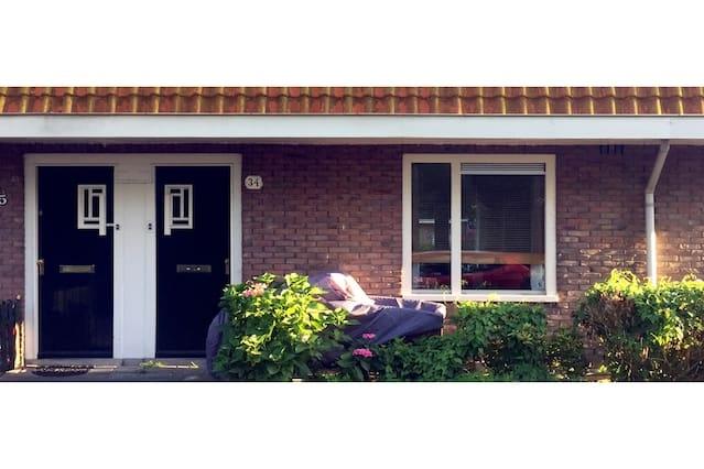 a cozy dutch authentic family house + 2 bikes