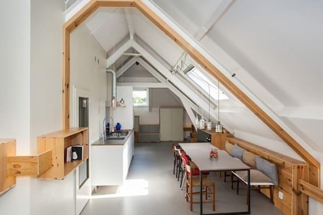 hystorical design loft in Rotterdam