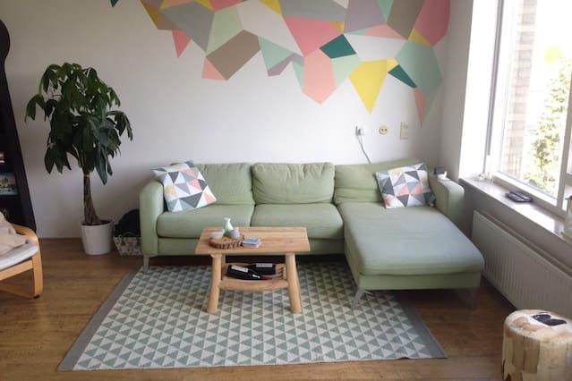 Spacious 4-room apartment in Rotterdam