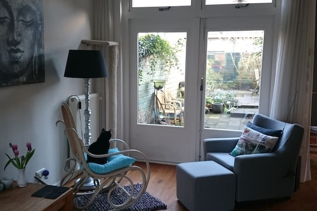 Cosy house close to centre Haarlem