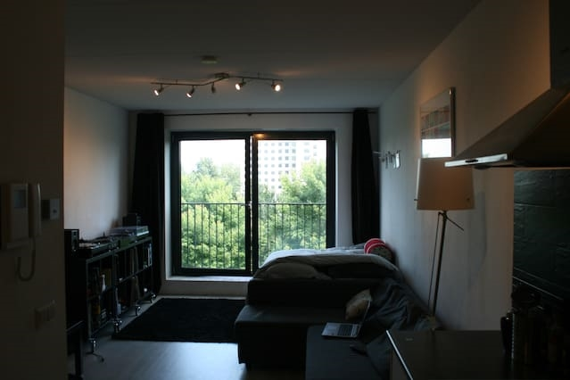 city center studio in amsterdam