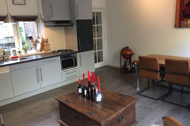 Modern apartment Vijfhoek Haarlem center