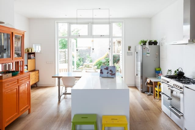 Modern huis-Rand centrum-Kidsproof
