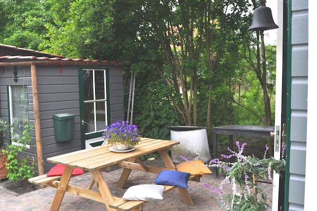 Charming house for 2, Bergen/Alkmaar, garden, Wifi