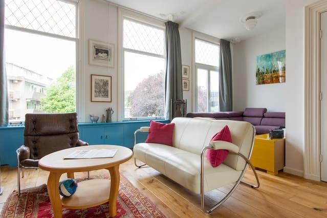 Spacious, stylish house in Haarlem