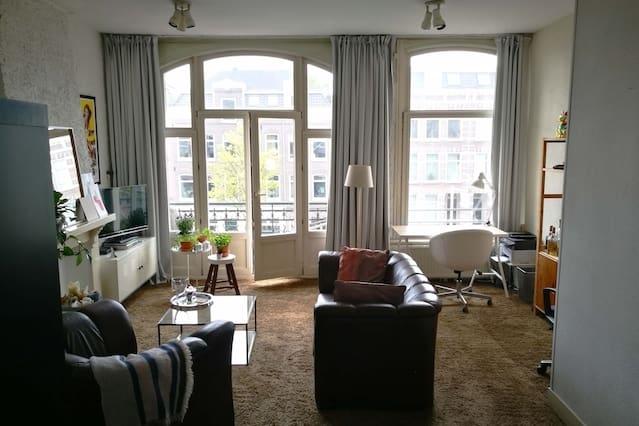 Cozy Private Room near Vondelpark and Leidseplein