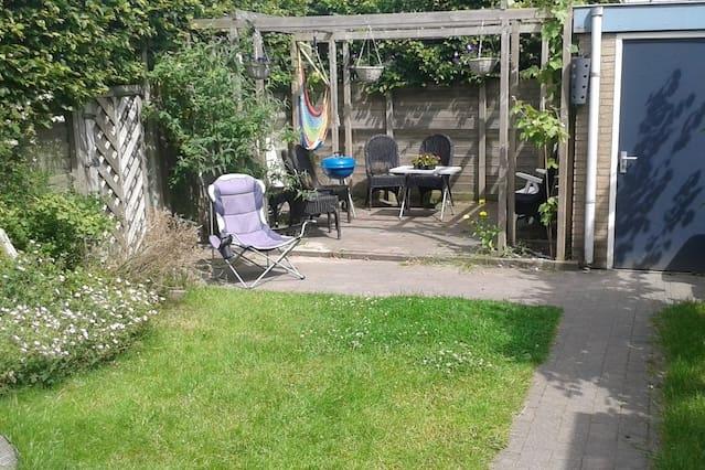 Centrally placed; Spacious house with a big garden