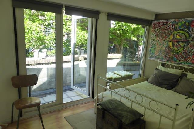Kamer met balkon in hartje Zwolle