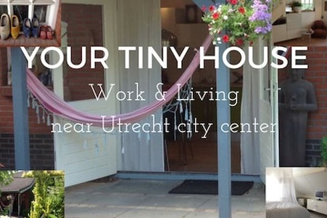 Your Tiny House, near Utrecht & free parking