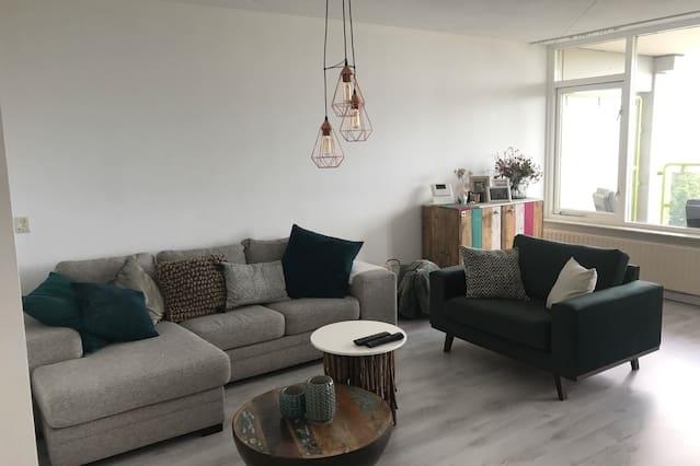 Leuk appartement in het centrum van Tilburg