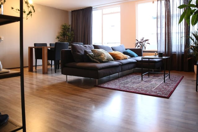 Modern, light 100m2 apartment in the cntr of Breda