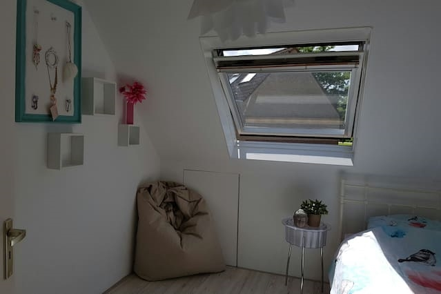 Stylish room, Amsterdam suburb