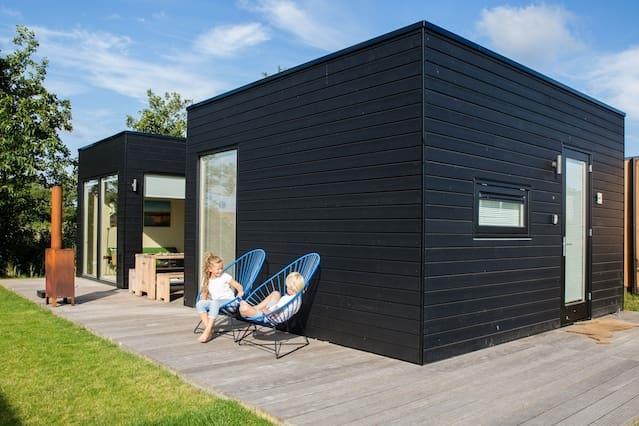 Vakantiehuisje Florizand, Design ingericht