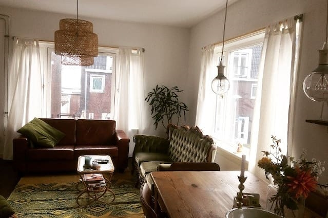 Cosy Vintage Apartment with Free bikes
