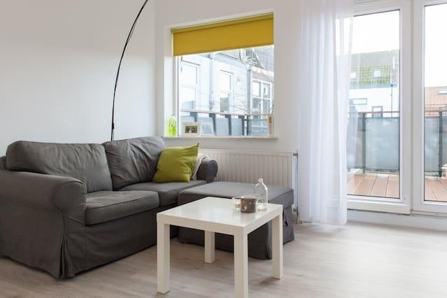 Appartement met zonnig terras