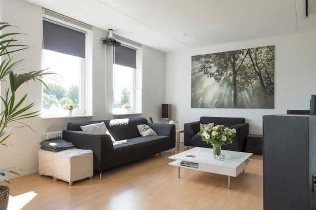 Spacious clean apartment near city centre