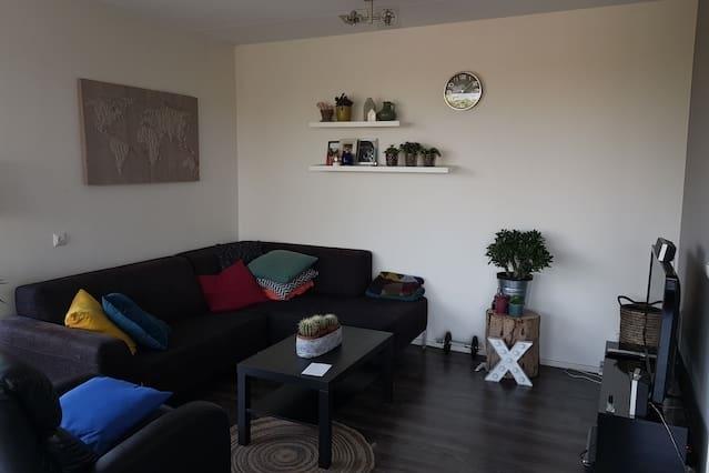 Mooi ruim appartement/penthouse