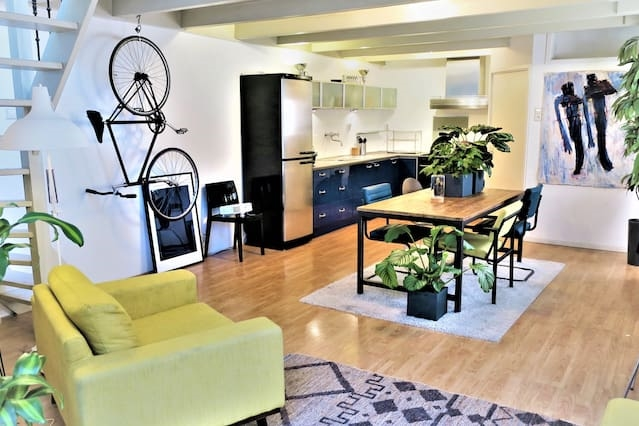Perfect Rooftop Appartment (14 min to Amsterdam)