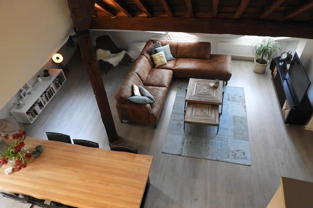 Ruim appartement in hartje Maastricht