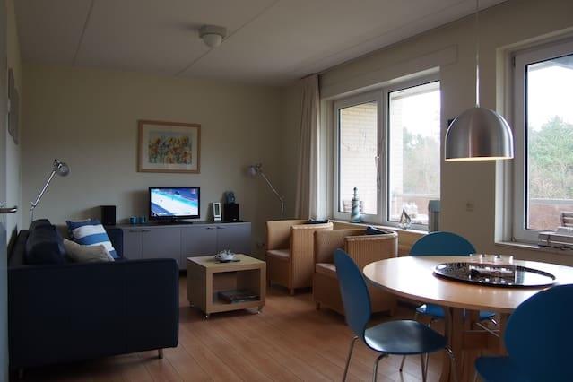 Luxe Appartement in bos op Vlieland